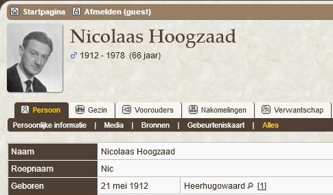 Nic Hoogzaad 2